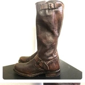 Frye brown leather riding boots size 6.5